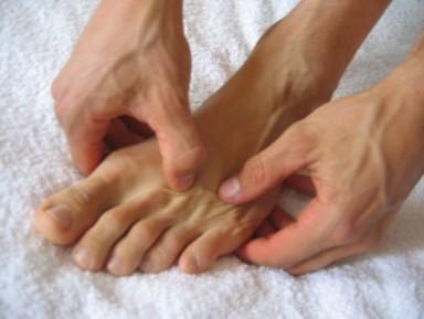 fussreflexzonentherapie